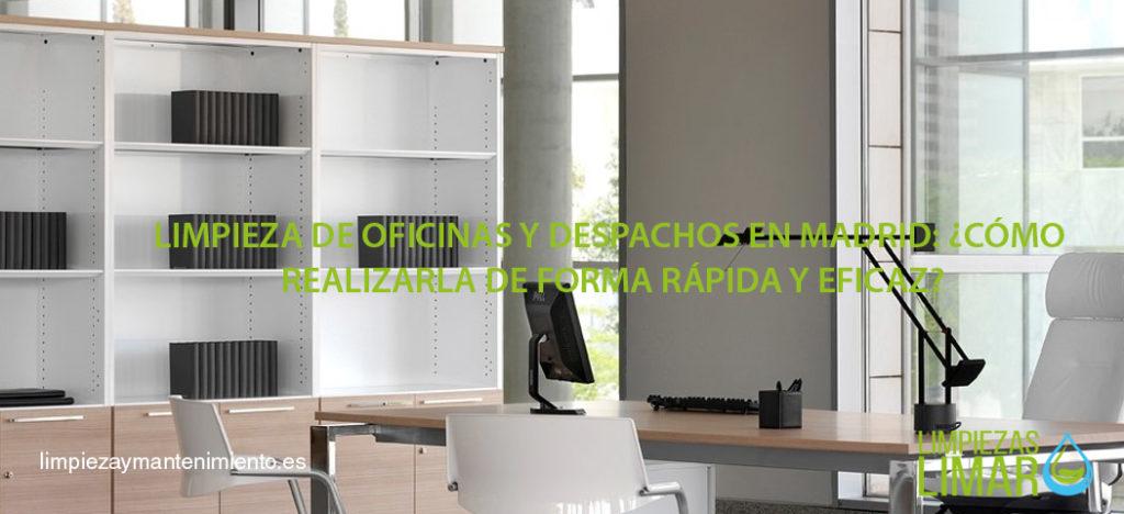 manual para la limpieza de oficinas y despachos perfecta