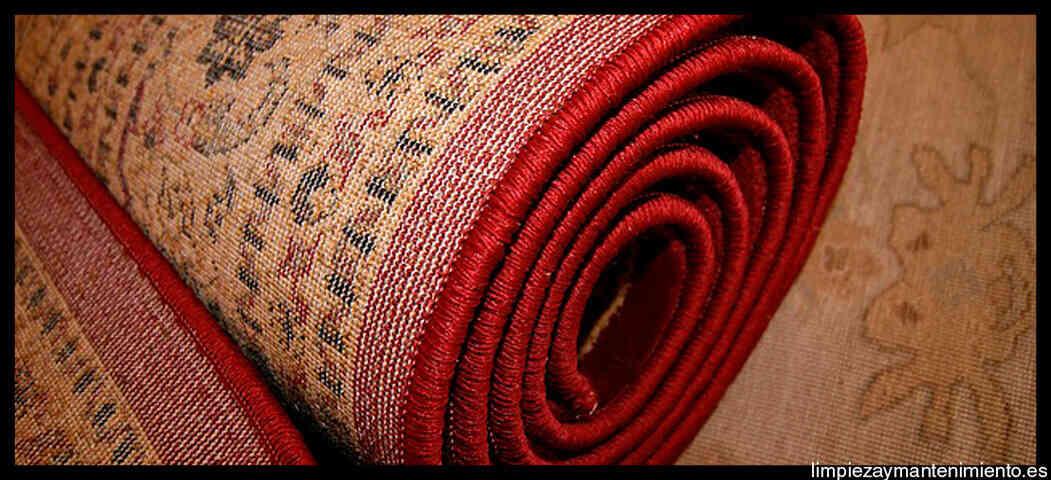 alfombra guardada